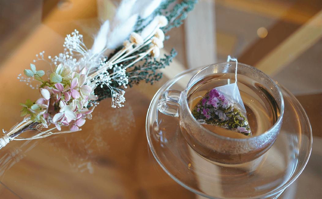 薔薇烏龍茶