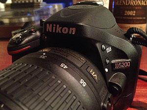 Nikonのデジタル一眼レフカメラ「D5200」