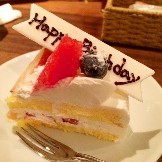 2014年バースデーケーキ