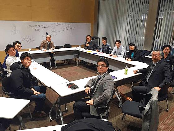 陽明学の勉強会の様子