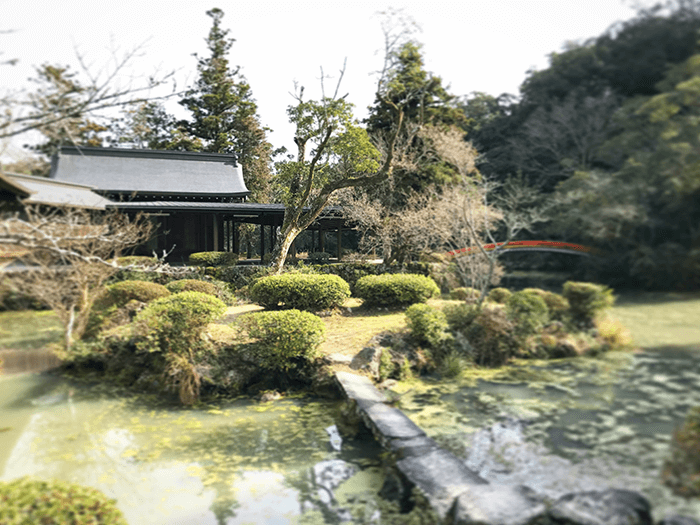 能楽殿の風景画像