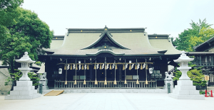 北九州市小倉北区にある八坂神社の画像
