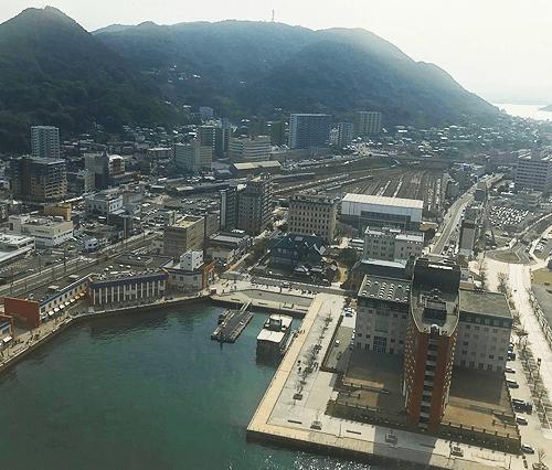 北九州市門司にある門司港レトロの風景画像